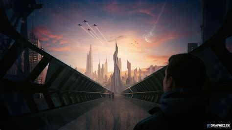 Futuristic City Concept Wallpapers   HD Wallpapers   ID #19458