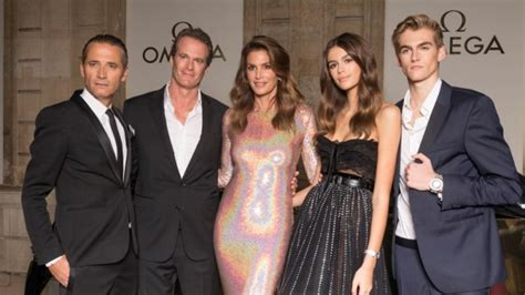 Cindy Crawford, Rande Gerber and Their Model Kids Kaia and