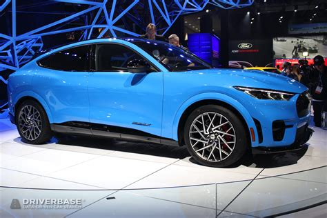 2021 Ford Mustang Mach-E GT Electric SUV at the Los