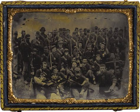 Group of Union soldiers before Chickamauga   American