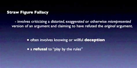 EDUCATE YOURSELF: The Straw Man Fallacy - YouTube