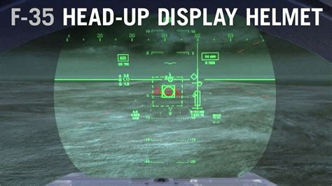 Get a Pilot's Eye View of the F-35 Head-Up Display - AINtv