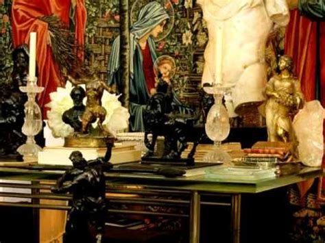 Yves Saint Laurent Home Private Visit - YouTube