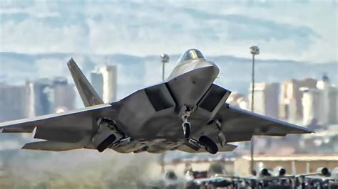 F-22 Raptor • Most Lethal Fighter Jet In The Sky - YouTube
