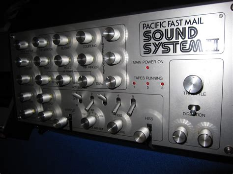 MATRIXSYNTH: Pacific fast mail sound system II