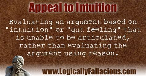 Appeal to Intuition
