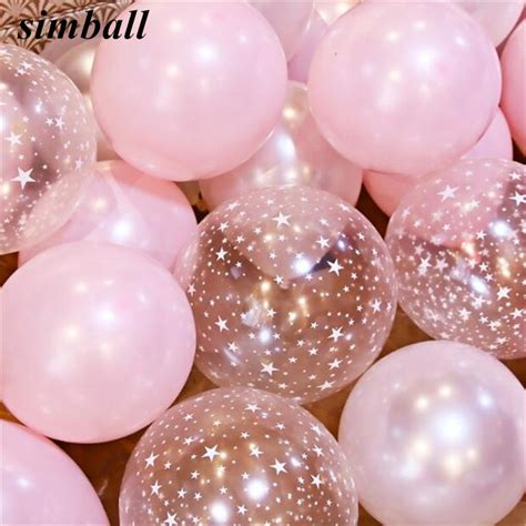 10inch Pink Balloons 2