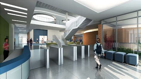 UCR Today: UCR Recreation Center Expansion lobby