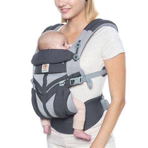 Ergobaby Omni 360 Cool Air Mesh Charcoal Grey baby carrier