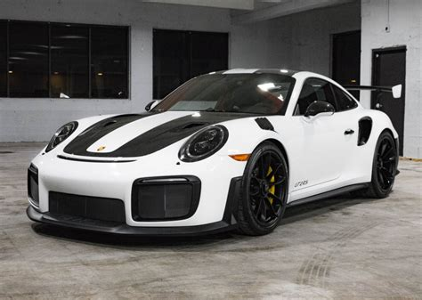 2018 Porsche 911 GT2 RS Weissach Available on Bring-A-Trailer