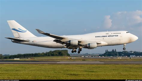 OO-ACE ACE Belgium Freighters Boeing 747-412(BCF) Photo by