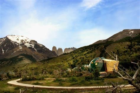 EcoCamp Patagonia is a Gorgeous Geodesic Campground in