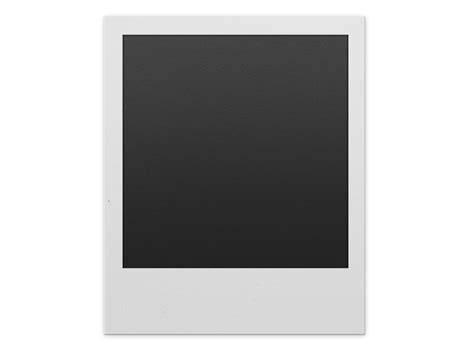 Polaroid Frame PNG For Photoshop (Isolated-Objects